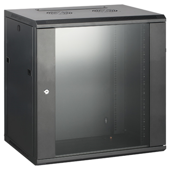 Product image of Hypertec Swing Frame Enclosed 12RU (600W X 600D X 635H) Server Cabinet - Click for product page of Hypertec Swing Frame Enclosed 12RU (600W X 600D X 635H) Server Cabinet