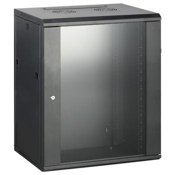Product image of Hypertec Swing Frame Enclosed 18RU (600W X 600D X 900H) Server Cabinet - Click for product page of Hypertec Swing Frame Enclosed 18RU (600W X 600D X 900H) Server Cabinet