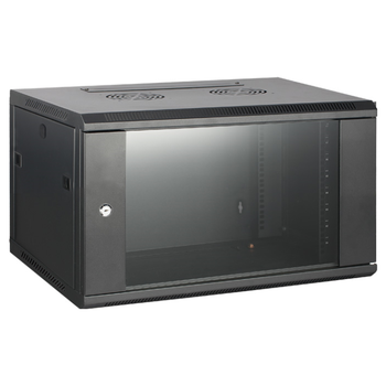 Product image of Hypertec Swing Frame Enclosed 6RU (600W X 600D X 370H) Server Cabinet - Click for product page of Hypertec Swing Frame Enclosed 6RU (600W X 600D X 370H) Server Cabinet