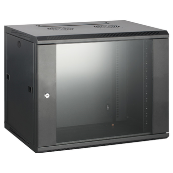 Product image of Hypertec Swing Frame Enclosed 9RU (600W X 600D X 500H) Server Cabinet - Click for product page of Hypertec Swing Frame Enclosed 9RU (600W X 600D X 500H) Server Cabinet
