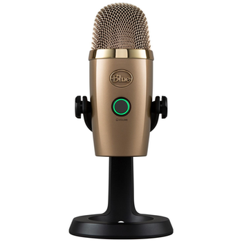 Product image of Blue Microphones Yeti Nano USB Desktop Microphone - Gold - Click for product page of Blue Microphones Yeti Nano USB Desktop Microphone - Gold