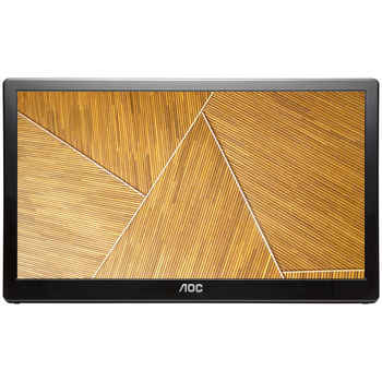 "Product image of AOC E1659FWU 15.6"" WXGA USB3.0 LED Monitor - Click for product page of AOC E1659FWU 15.6"" WXGA USB3.0 LED Monitor"