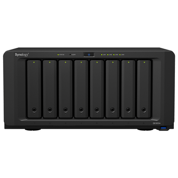 Product image of Synology DS1819+ Quad-Core 2.1GHz 4GB 8 Bay NAS Enclosure - Click for product page of Synology DS1819+ Quad-Core 2.1GHz 4GB 8 Bay NAS Enclosure