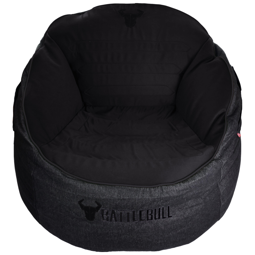 A large main feature product image of BattleBull Bunker Black/Black Bean Bag