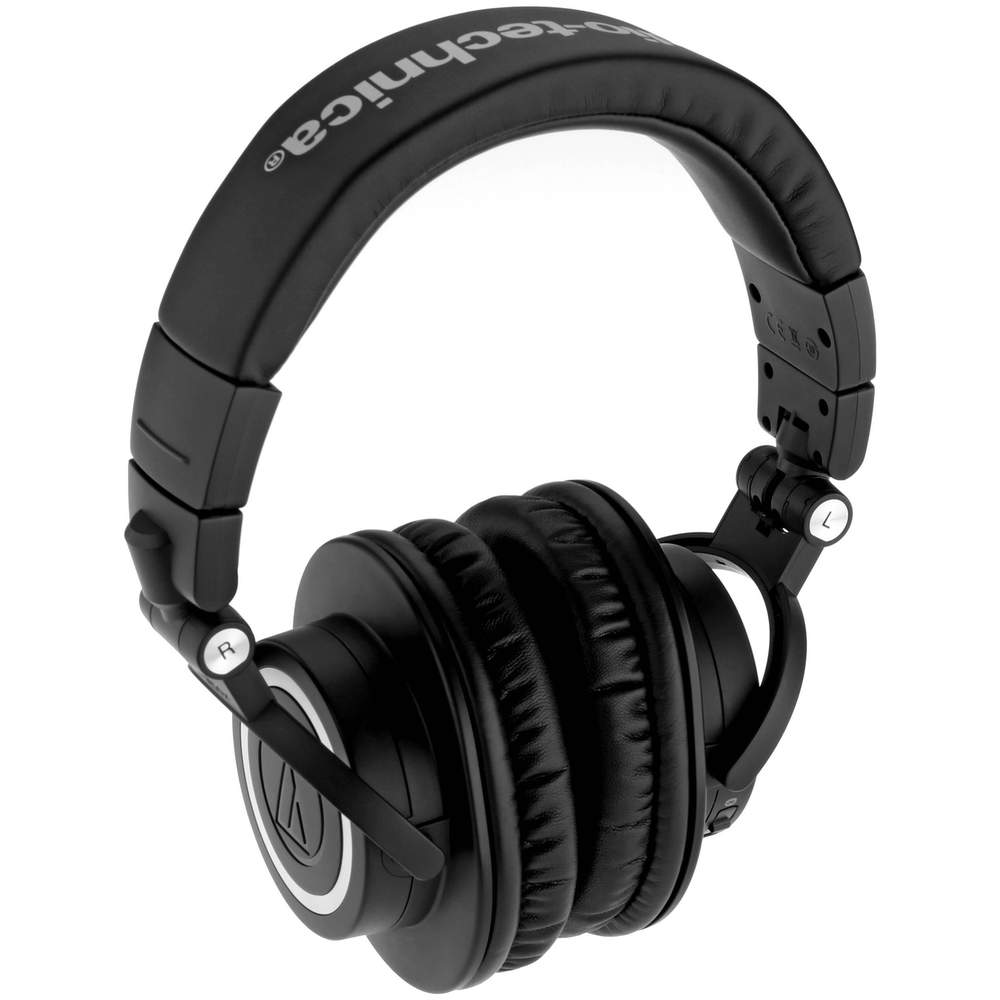 A large main feature product image of Audio Technica ATH-M50xBT Studio Headphones w/Bluetooth