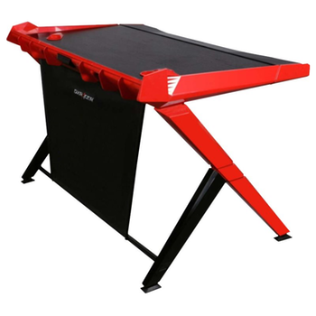 Product image of DXRacer 1000 Series Gaming Desk - Black & Red - Click for product page of DXRacer 1000 Series Gaming Desk - Black & Red