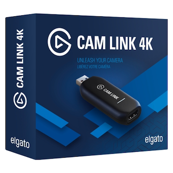 Product image of Elgato Cam Link 4K Adapter - Click for product page of Elgato Cam Link 4K Adapter