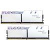A product image of G.Skill 16GB Kit (2x8GB) DDR4 Trident Z Royal Silver RGB C16 3200Mhz