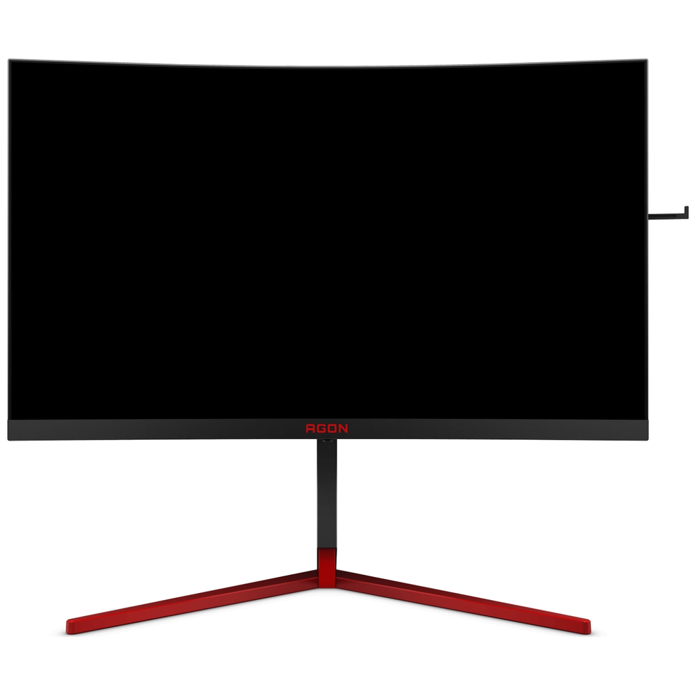 """A large main feature product image of AOC AGON AG273QCG 27"""" WQHD G-SYNC Curved 165Hz 1MS LED Gaming Monitor"""