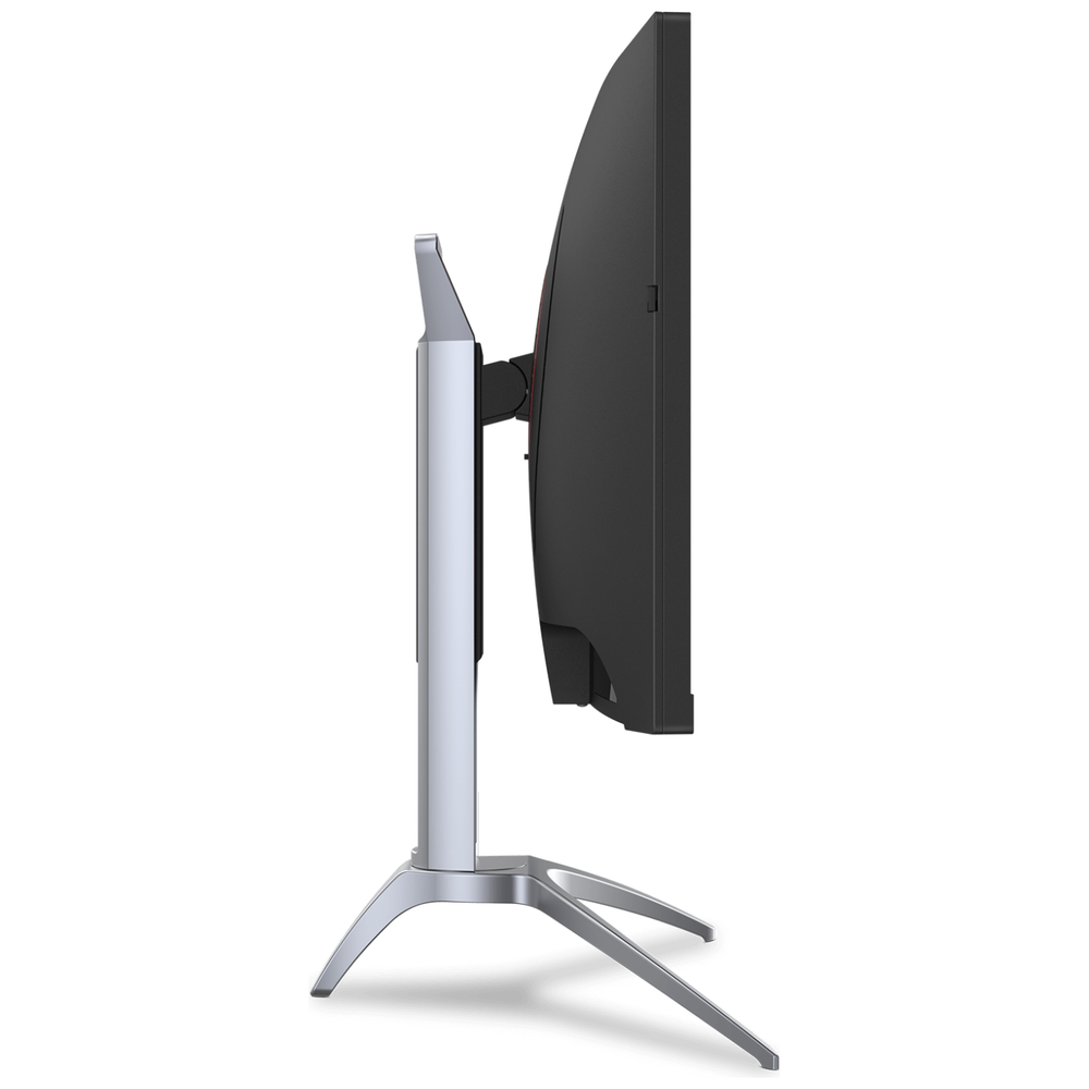 """A large main feature product image of AOC AGON AG273QCX 27"""" WQHD FreeSync 2 Curved 144Hz 1MS VA LED Gaming Monitor"""