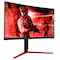 """A small tile product image of AOC AGON AG273QCG 27"""" WQHD G-SYNC Curved 165Hz 1MS LED Gaming Monitor"""
