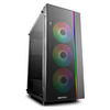 A product image of Deepcool Matrexx 55 Addressable RGB 3F Mid Tower Case w/ Tempered Glass Side Panel