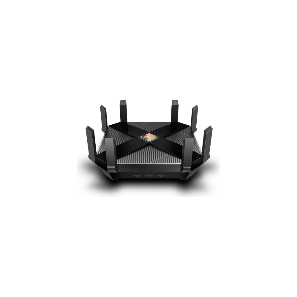 A large main feature product image of TP-LINK Archer AX6000 Dual Band MU-MIMO Gigabit Router