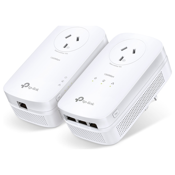 Product image of TP-LINK PA8033P AV1300 MIMO 3-Port Gigabit Powerline Start Kit - Click for product page of TP-LINK PA8033P AV1300 MIMO 3-Port Gigabit Powerline Start Kit