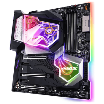Product image of Gigabyte Z390 Aorus XTREME WATERFORCE LGA1151-CL E-ATX Desktop Motherboard - Click for product page of Gigabyte Z390 Aorus XTREME WATERFORCE LGA1151-CL E-ATX Desktop Motherboard