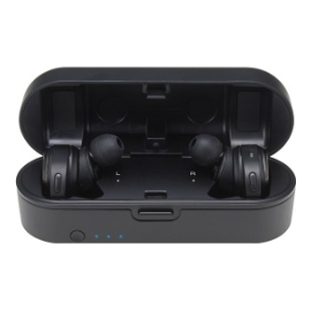 Product image of Audio Technica ATH-CKR7TW Black True Wireless In-Ear Headphones - Click for product page of Audio Technica ATH-CKR7TW Black True Wireless In-Ear Headphones