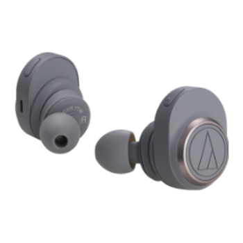 Product image of Audio Technica ATH-CKR7TW Grey True Wireless In-Ear Headphones - Click for product page of Audio Technica ATH-CKR7TW Grey True Wireless In-Ear Headphones