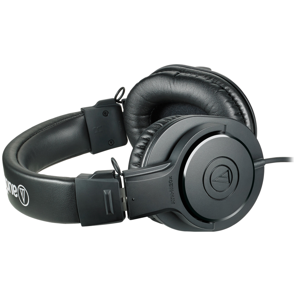 A large main feature product image of Audio Technica ATH-M20x Entry Level Studio Headphones