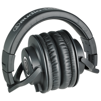 Product image of Audio Technica ATH-M40x Professional Studio Headphones - Click for product page of Audio Technica ATH-M40x Professional Studio Headphones