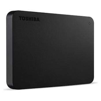"Product image of Toshiba Canvio Basics 2TB 2.5"" USB3.0 Portable HDD - Click for product page of Toshiba Canvio Basics 2TB 2.5"" USB3.0 Portable HDD"