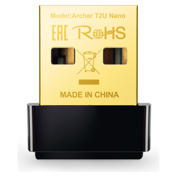 Product image of TP-LINK Archer T2U Nano 802.11ac AC600 Wireless Dual Band USB Adapter - Click for product page of TP-LINK Archer T2U Nano 802.11ac AC600 Wireless Dual Band USB Adapter