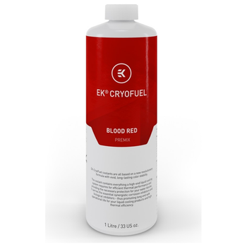 Product image of EK CryoFuel Blood Red 1L Premix Coolant - Click for product page of EK CryoFuel Blood Red 1L Premix Coolant