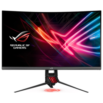 "Product image of ASUS ROG Strix XG32VQR 32"" WQHD FreeSync 2 Curved 144Hz HDR400 4MS VA LED Gaming Monitor - Click for product page of ASUS ROG Strix XG32VQR 32"" WQHD FreeSync 2 Curved 144Hz HDR400 4MS VA LED Gaming Monitor"