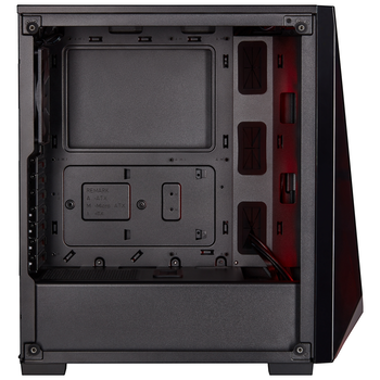 Product image of Corsair Carbide SPEC-DELTA Black RGB Mid Tower Case w/Tempered Glass Side Panel - Click for product page of Corsair Carbide SPEC-DELTA Black RGB Mid Tower Case w/Tempered Glass Side Panel