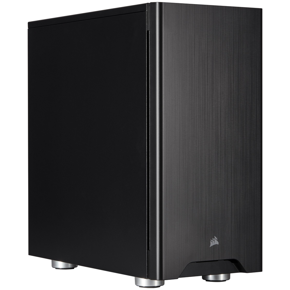 A large main feature product image of Corsair Carbide 275Q Black Mid Tower Case
