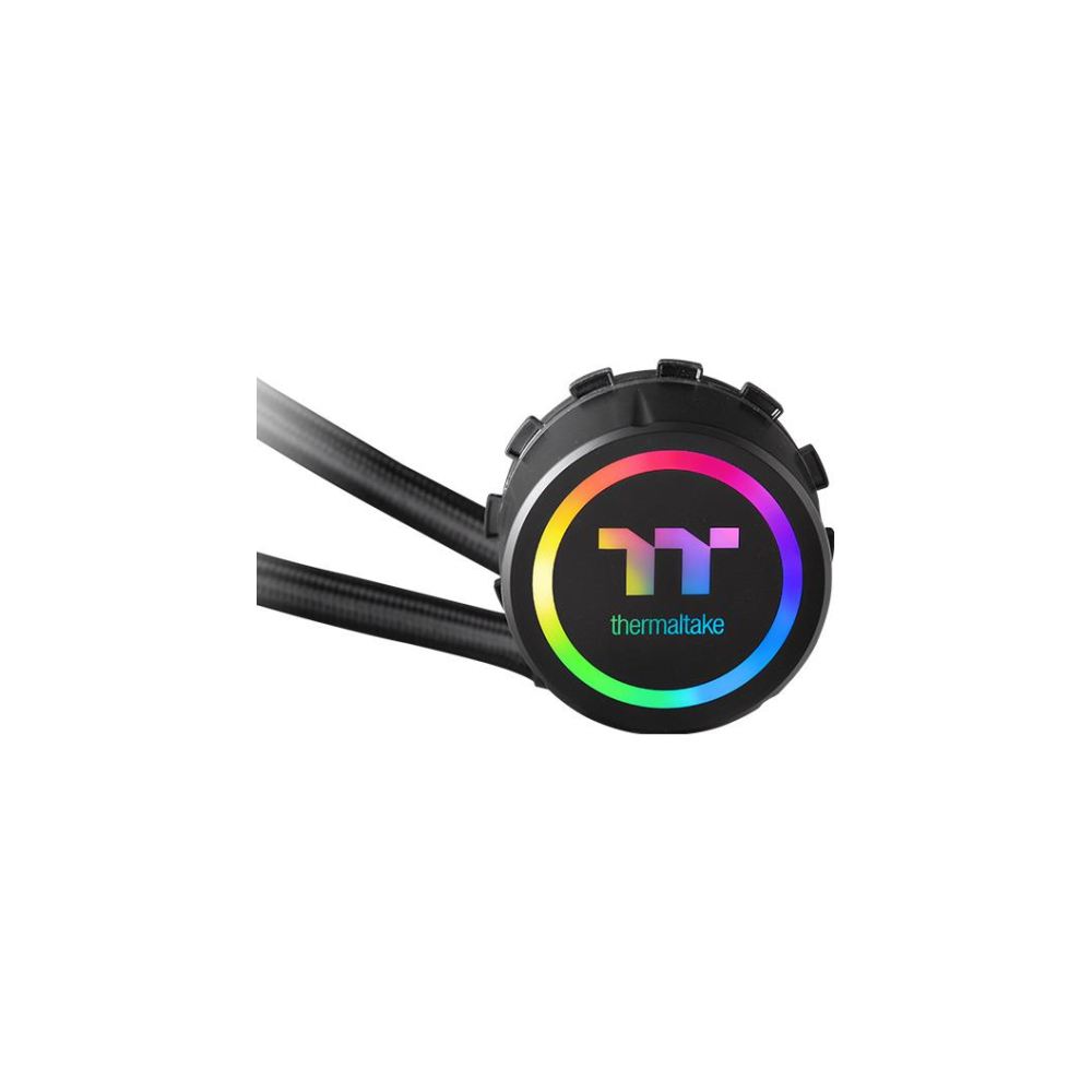 A large main feature product image of Thermaltake Water 3.0 360 Addressable RGB CPU Liquid Cooler