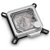 A product image of EK Velocity Nickel Plexi CPU Waterblock