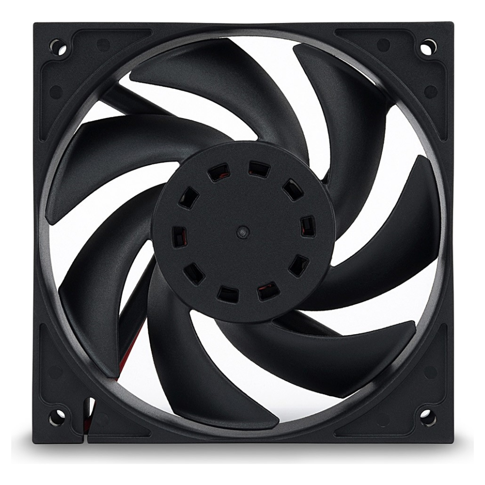 A large main feature product image of EK Furious Vardar EVO 120BB 120mm Cooling Fan