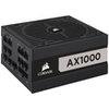 A product image of Corsair AX1000 1000W 80PLUS Titanium Modular Power Supply