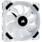 A small tile product image of Corsair LL120 RGB White RGB PWM Fan Triple Pack w/Lighting Node Pro