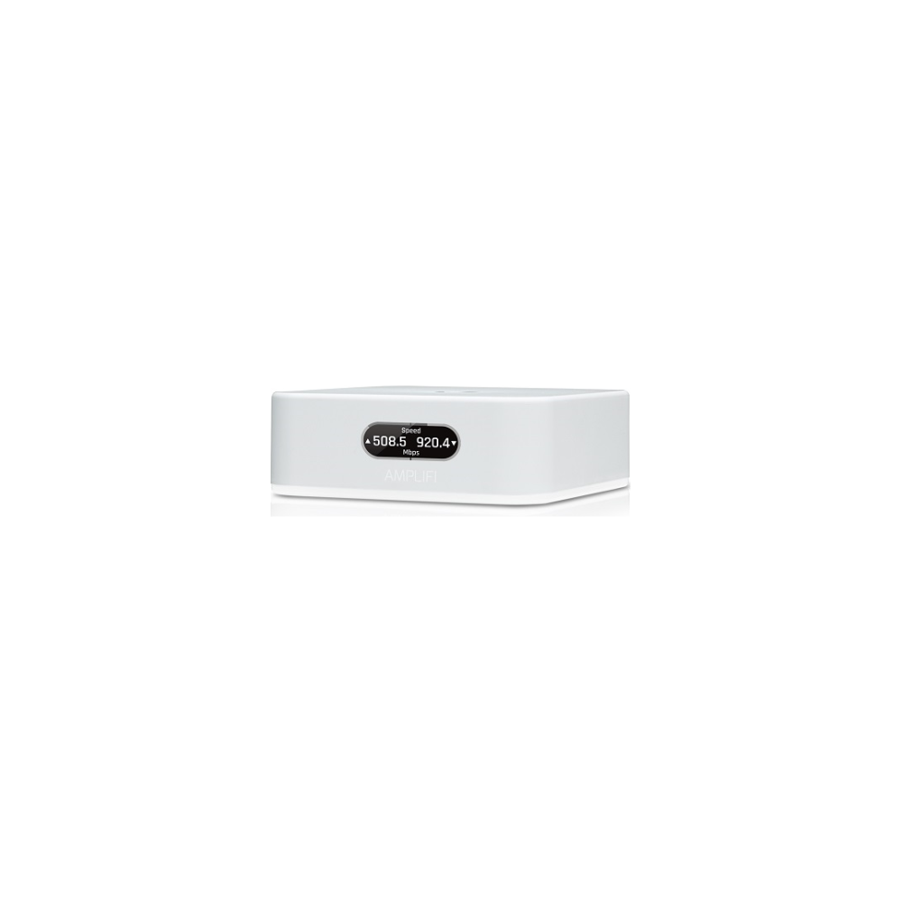 A large main feature product image of Ubiquiti Amplifi Instant Mesh Router