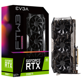 Product image of eVGA GeForce RTX2080Ti FTW3 ULTRA GAMING 11GB GDDR6 iCX2 RGB LED - Click for product page of eVGA GeForce RTX2080Ti FTW3 ULTRA GAMING 11GB GDDR6 iCX2 RGB LED