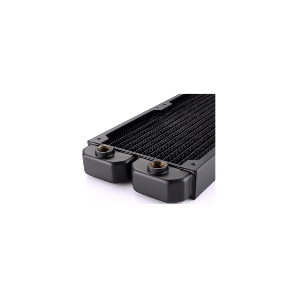 A large main feature product image of Bykski 360mm Radiator - Black