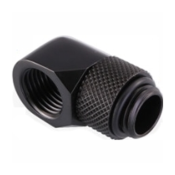 Product image of Bykski G1/4 90 Degree Rotary Extender - Matte Black - Click for product page of Bykski G1/4 90 Degree Rotary Extender - Matte Black