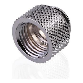Product image of Bykski G1/4 10mm Extender - Silver - Click for product page of Bykski G1/4 10mm Extender - Silver