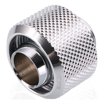 Product image of Bykski G1/4 10mm Soft Tube Compression Fitting - Silver - Click for product page of Bykski G1/4 10mm Soft Tube Compression Fitting - Silver