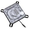 A product image of Bykski XPR Acrylic RBW LGA115x CPU Waterblock