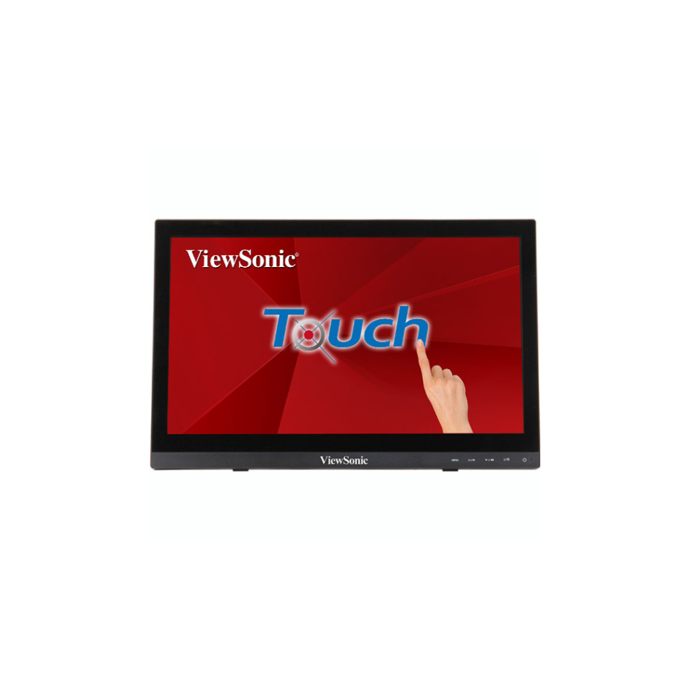 """A large main feature product image of ViewSonic TD1630 15.6"""" 10-Point Touch Screen Monitor"""