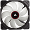 A small tile product image of Corsair AF120 120mm Quiet Edition Red LED Cooling Fan