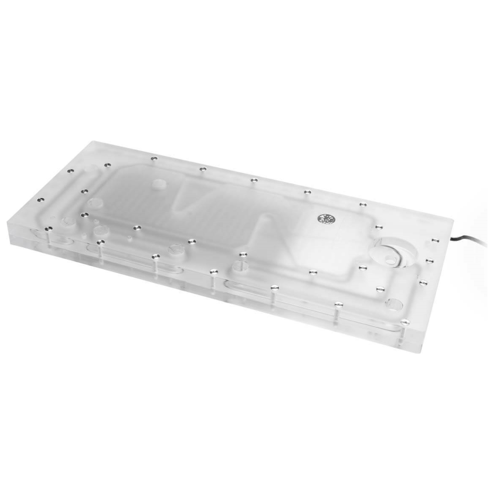 A large main feature product image of Bykski Cooler Master C700P Case RBW Water Distribution Board