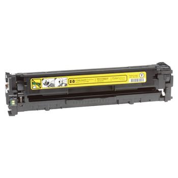 Product image of HP 125A CB542A Yellow Toner - Click for product page of HP 125A CB542A Yellow Toner