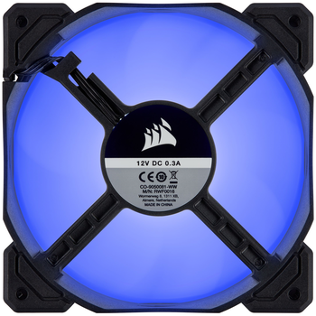 Product image of Corsair AF120 120mm Quiet Edition Blue LED Cooling Fan - Click for product page of Corsair AF120 120mm Quiet Edition Blue LED Cooling Fan