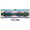 "A product image of Philips 499P9H1 49"" Dual WQHD Adaptive Sync Curved 5MS VA LED Monitor"