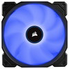 A product image of Corsair AF120 120mm Quiet Edition Blue LED Cooling Fan