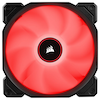 A product image of Corsair AF120 120mm Quiet Edition Red LED Cooling Fan