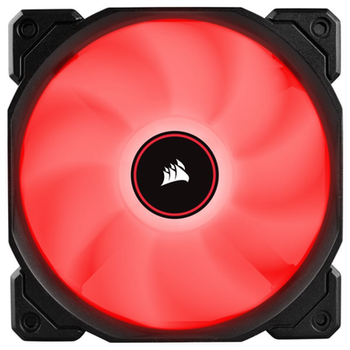 Product image of Corsair AF120 120mm Quiet Edition Red LED Cooling Fan - Click for product page of Corsair AF120 120mm Quiet Edition Red LED Cooling Fan